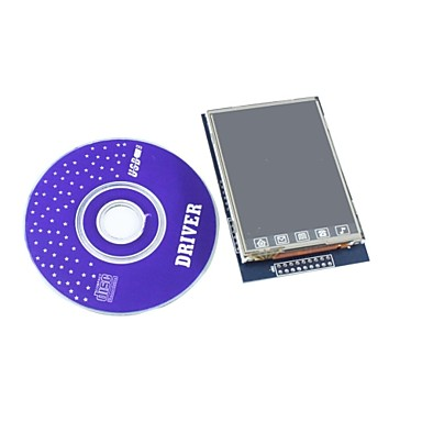 "Wholesale 2.8"" TFT LCD Touch Shield Display Module with CD for Arduino"