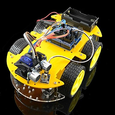 Wholesale Bluetooth Controlled Robot Car Kits for Arduino