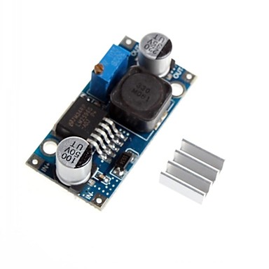 Wholesale LM2596 - ADJ DC-DC Adjustable Step-down Reduction Voltage Depressurization Module With Aluminum Heat Sink