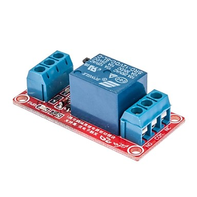 Wholesale 1-Channel High/Low Level Triger with Optocoupler Relay Module 12V for Arduino