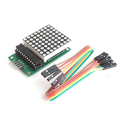 Wholesale MAX7219  8*8 Dot Matrix Serially Interfaced 8-Digit LED Display Driver for Arduino