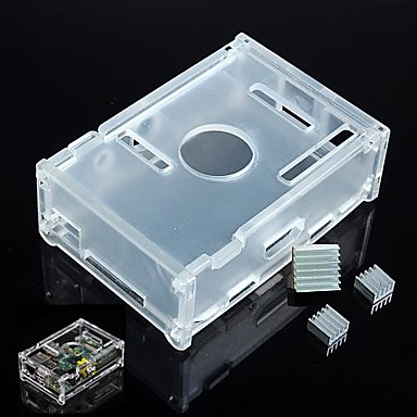 Wholesale Enclosure Case Box and Heat Sink for Raspberry Pi