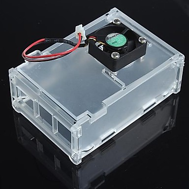 Wholesale Enclosure Case Box and Of The Fan for Raspberry Pi