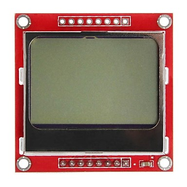 "Wholesale Geeetech 84x48 1.6"" Nokia 5110 LCD Module for Arduino"