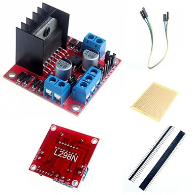 Wholesale L298N Dual H Bridge Stepper Motor Driver Controller Board Module  and Accessories for Arduino