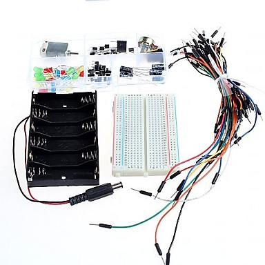 Wholesale Starter Basic Edition Breadboard Power Supply Basic Kit for Arduino