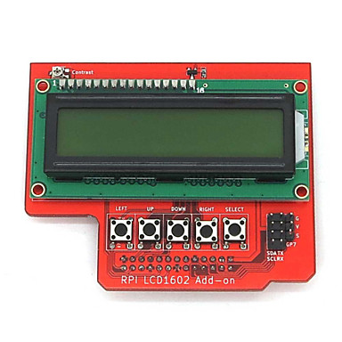 Wholesale Raspberry PI LCD1602 LCD Display Expansion Board Compatibility with Raspberry Pi B+