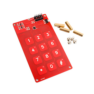 Wholesale MPR121 Touch Shield 12 keys 12 Channels 5V 3.3V for Arduino 51 Code