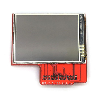 "Wholesale Raspberry PI  2.8"" TFT LCD Touch Shield Module Compatibility with Raspberry Pi B+"
