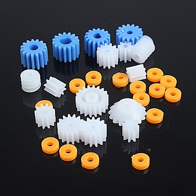 Wholesale Kinds of Plastic Gear Motor Gear Robot Parts DIY Model KIT