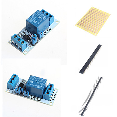 Wholesale 1 Ways Relay Module with Optocoupler and Accessories