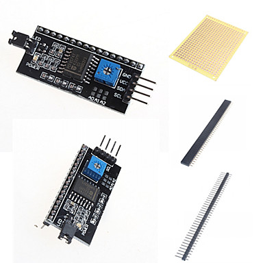 Wholesale IIC / I2C / Interface Adapter Board LCD1602 and Accessories