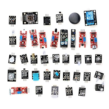 Wholesale DIY 37-in-1 Sensor Module Kit for Arduino (Works with Official Boards)