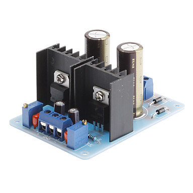 Wholesale LM317 337 Dual Power Supply Adjustable Module 1.5-18V AC to 2-25V DC Converter