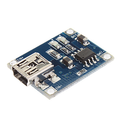 Wholesale Mini 1A Lithium Battery Charging Module - Blue