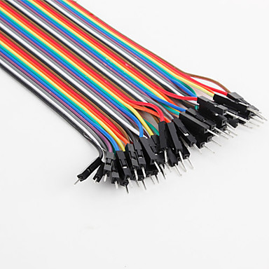 Wholesale Male to Male Breadboard Wires for Electronic DIY 22cm