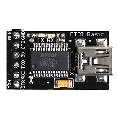 Wholesale FTDI Basic Breakout USB to TTL Upload Tool for MWC for (For Arduino) (Works with Official (For Arduino) Boards)