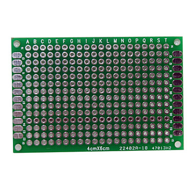 Wholesale PCB Prototype Blank PCB 2 Layers Double Side 4 x 6cm Protoboard