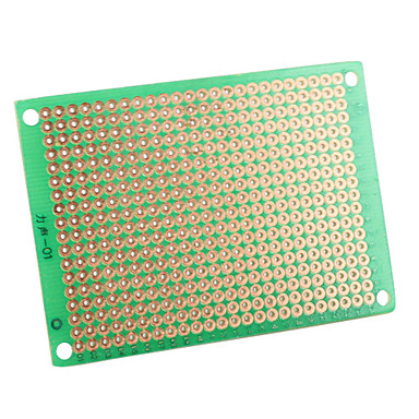 Wholesale 5 x 7cm DIY Glass Fiber Prototyping PCB Universal Board-Green (5-Pack)