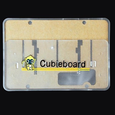 Wholesale Protective Plastic Semi Transparent Enclosure Case for Cubieboard