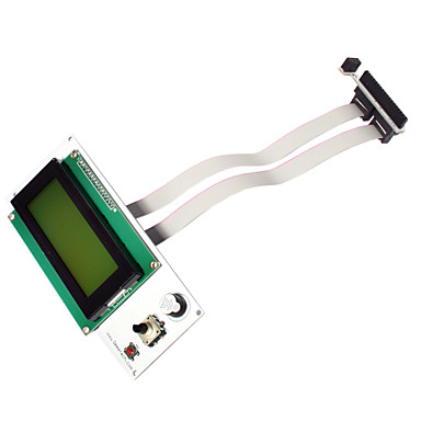 Wholesale Serial I2C/TWI 2004 Character LCD DISPLAY Module for 3D Printer
