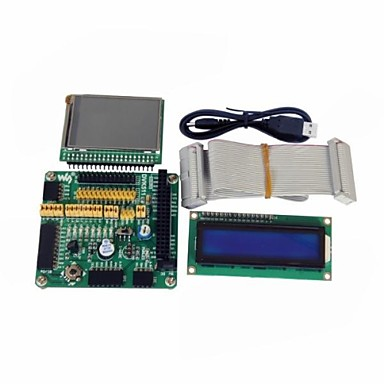 "Wholesale Waveshare Expansion Development Board And LCD1602 2.2"" LCD Board And 26Pin Data Cable for Raspberry Pi"