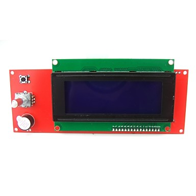 Wholesale 2004 LCD Display Smart Controller Module with Adapter for 3D Printer Controller RAMPS1.4 Arduino Mega Pololu RepRap