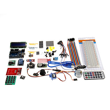 Wholesale KT0002 RFID System Learning Kit Based for Arduino - Multicolored