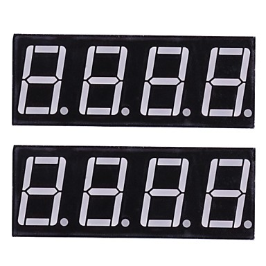 Wholesale Compatible (For Arduino) 4-Digit 12-Pin Display Module  (2PCS)