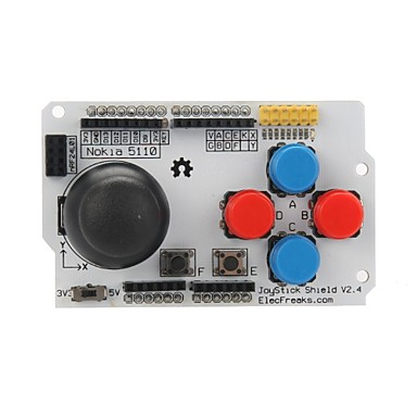 Wholesale Elecfreaks E00415 Joystick Shield v2.4 SHD JK2 For Arduino