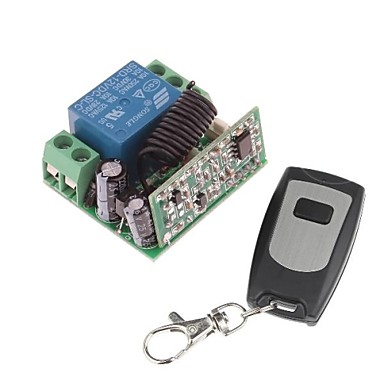 Wholesale 12V 1-Channel Wireless Remote Power Relay Module with Remote Controller (DC28V-AC250V)