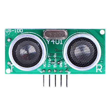 Wholesale Ultrasonic Sensor US-100 Distance Measuring Module with Temperature Compensation - Green