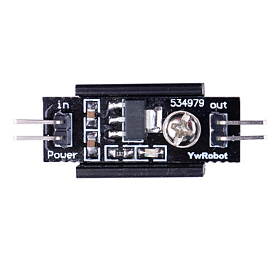 Wholesale 1117 3.3V Power Supply Mode with Heatsink for (For Arduino) - Black