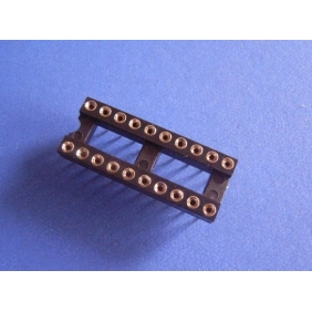 "Wholesale 20 Pin DIP IC Socket 0.1"" Pitch 0.3"" Row Spacing 23pcs/tube"