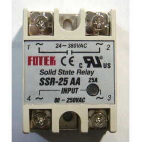 Wholesale Solid State Relay AC to AC SSR-25AA 25A