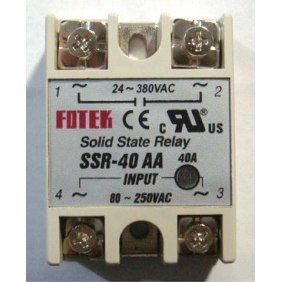 Wholesale Solid State Relay AC to AC SSR-40AA 40A