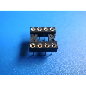 "Wholesale 8 Pin DIP IC Socket 0.1"" Pitch 0.3"" Row Spacing 60pcs/tube"