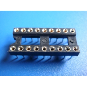 "Wholesale 18 Pin DIP IC Socket 0.1"" Pitch 0.3"" Row Spacing 26pcs/tube"