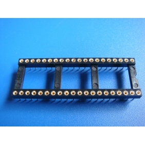 "Wholesale 40 Pin DIP IC Socket 0.1"" Pitch 0.6"" Row Spacing 12pcs/tube"