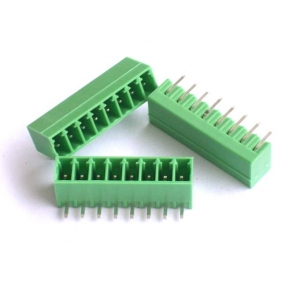 Wholesale 50pcs Male 5 pin 3.5mm Terminal Block, Right Angle PCB Mount