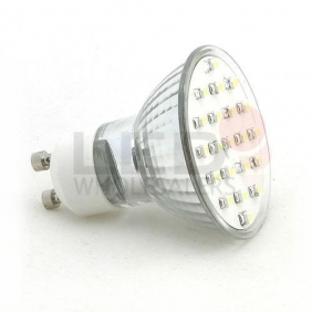 Wholesale Brightest GU10 SMD SMT LED White Wide Angle Light Bulb