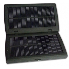 Wholesale High Compact Power Rechargerable Solar Charger for Mobile Phone and MP3 MP4 PDA PSP i-POD