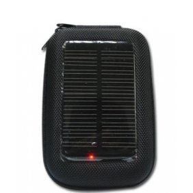 Wholesale Hot Sale EVA Jacket Solar Charger Case with Build-in 1200mAh Li-Battery