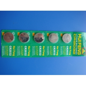 Wholesale 5pcs/panel Sealed CR2032 CR 2032 LITHIUM COIN BATTERY