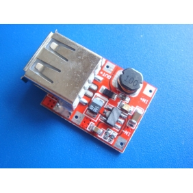 Wholesale DC-DC 3V to 5V step-up Power Transformer Module, mobile phone/MP3/MP4 emergency recharger