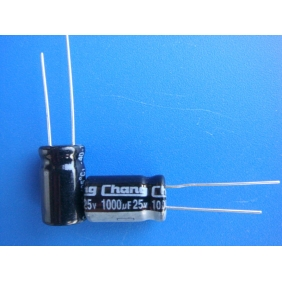 Wholesale Radial Electrolytic Capacitor 1000uF 25V 105C 10x17mm 50pcs