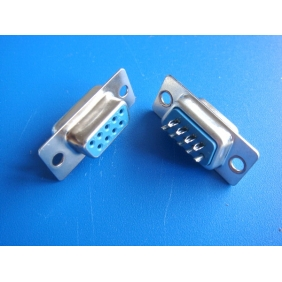 Wholesale 9 pins Contact Female Solder Cup Connector DB9 DSUB9