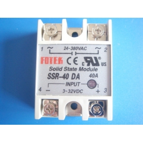 Wholesale Solid State Relay DC to AC SSR-40DA 40A