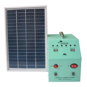Wholesale 5W Solar Panel + Solar Power System Kits  for  LED Lights and Cell Phone Charging