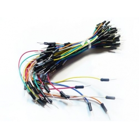 Wholesale Solderless Breadboard Jumper Cable Wires Kit Qty65